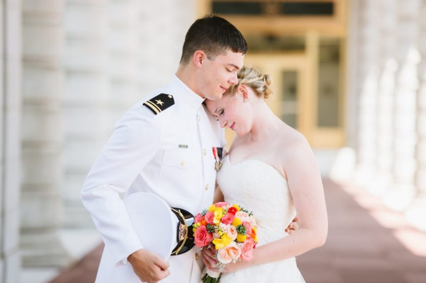Newly married with husband in military