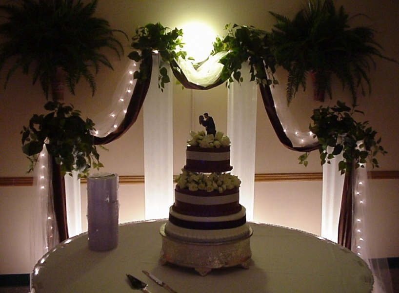 Shannons Custom Florals columns Wedding Rentals Springfield MO Eureka Springs (13)