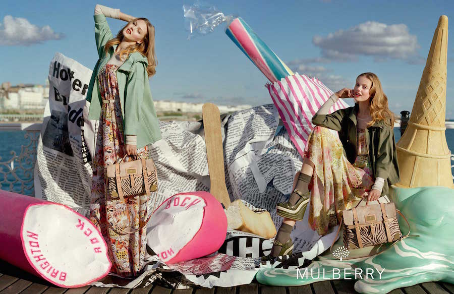 Mulberry Spring Summer 2012 campaign.