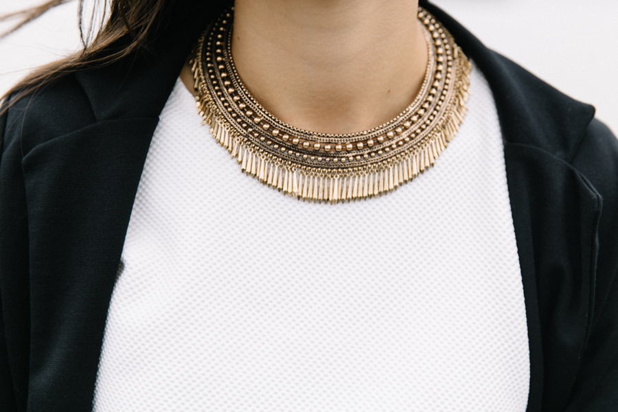 Happiness Boutique Prosperity statement necklace.