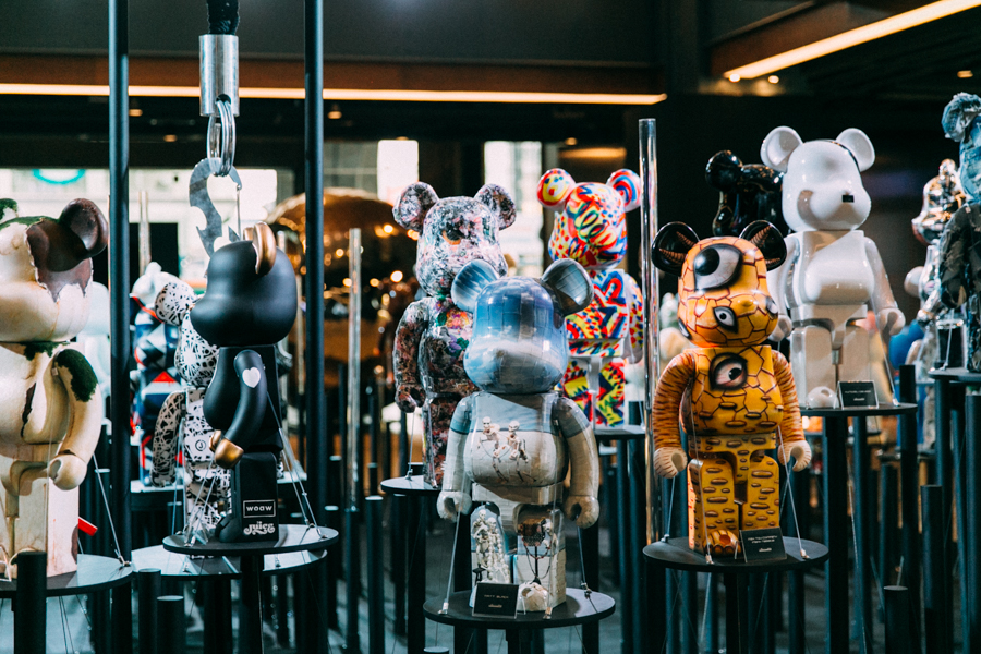 Be@rbrick exhibition in Bangkok's Siam Centre.