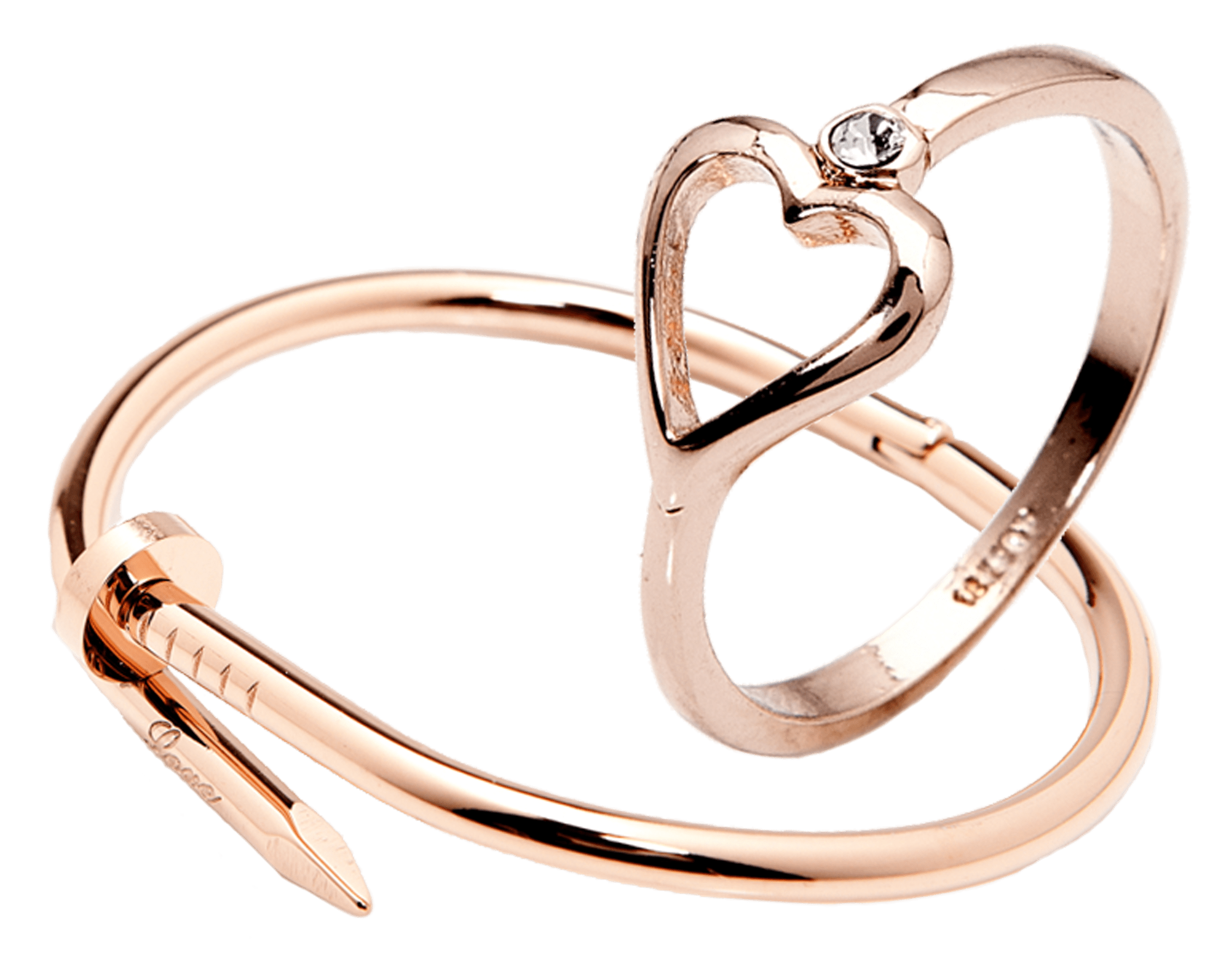 ThePeachBox rose gold jewellery on a budget.