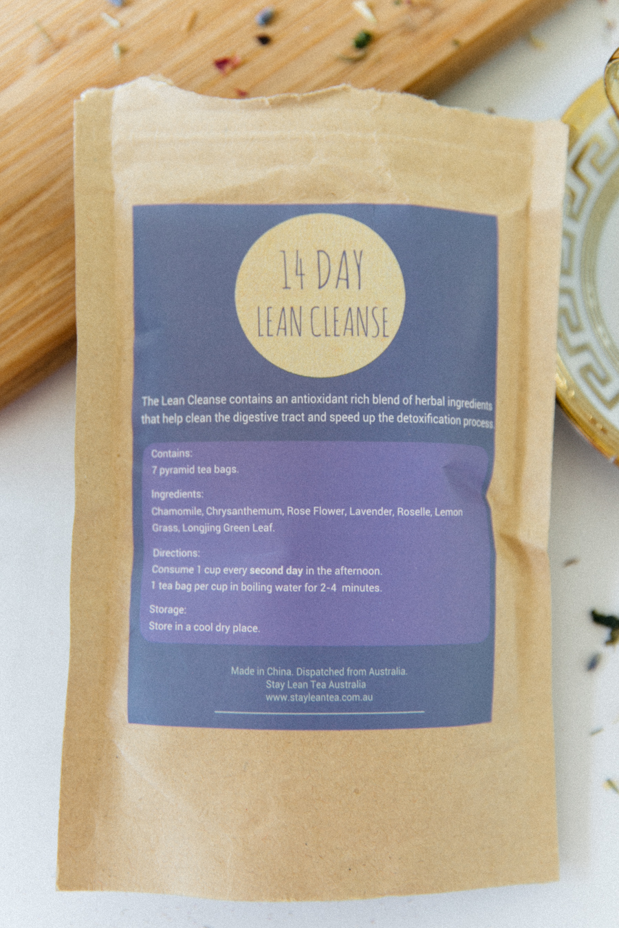 The best 14 day tea cleanser.