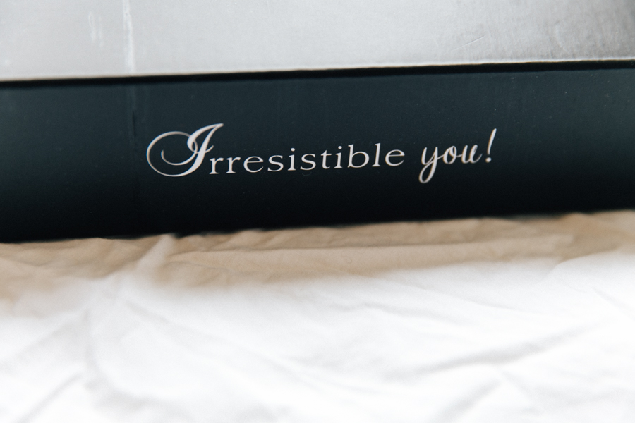 Irresistible Me packaging.