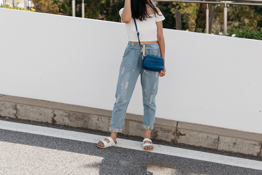 How to wear boyfriend jeans. Affordable boyfriend jeans. Perth street style.