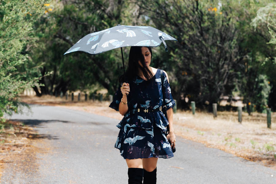 Blunt Umbrella review. Australian fashion blogger.