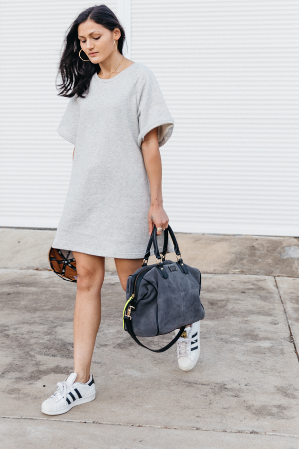 Grey outfit. Perth fashion blogger.