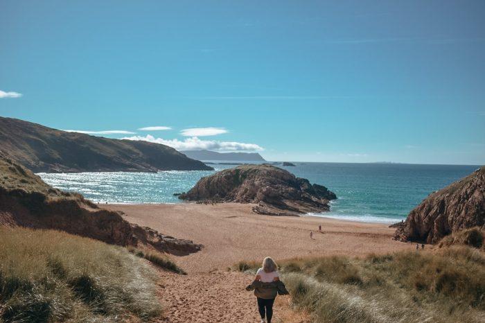 Murder hole beach, County Donegal, Ireland