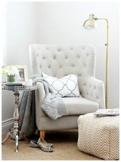 ivory-velvet-bedroom-reading-corner-chair-with-wing-back-style-also-tufted-accent-plus-patterned-ottoman-and-rustic-side-table-728x978