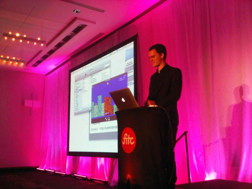 Kyle McDonald's talk at FITC 2012