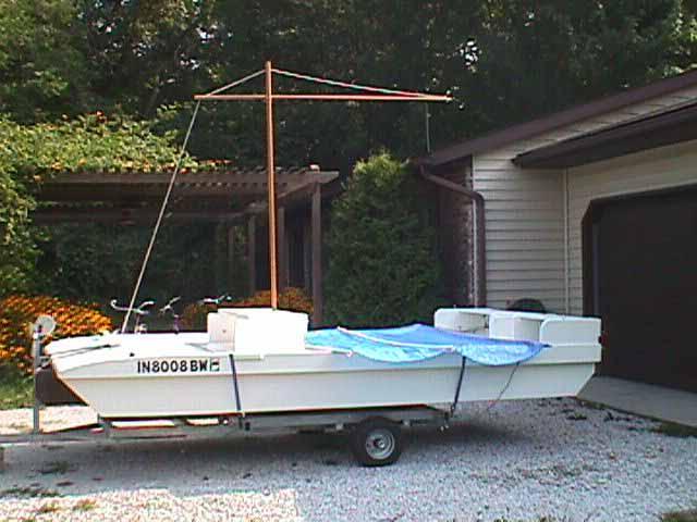 WizCat 130 Pontoon Deck Boat | ShantyboatLiving com