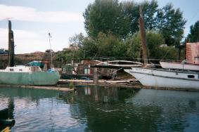 a scrap boats
