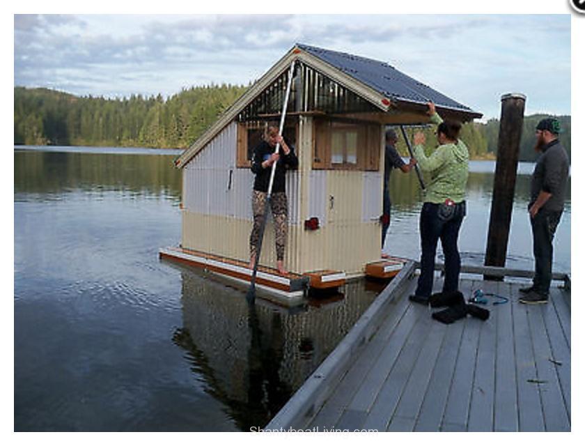 Micro Mini Tiny Houseboat Shantyboatliving Com