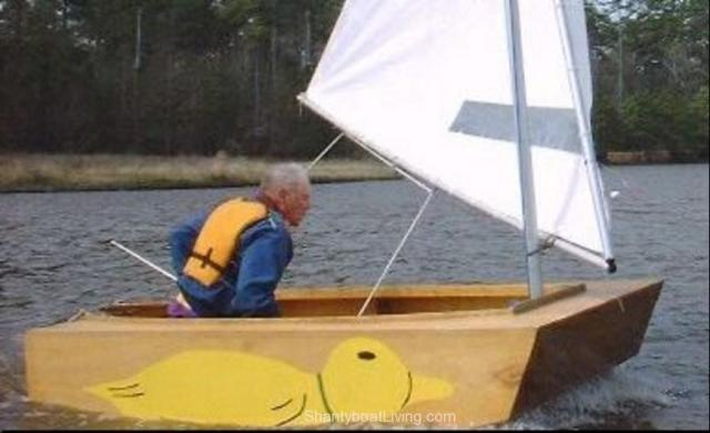 Puddle Duck Racer - Easiest Sailboat to Build and Race.clipular