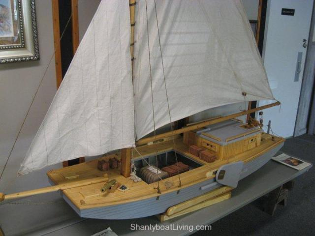 Sailing Scow Launch – ShantyboatLiving.com