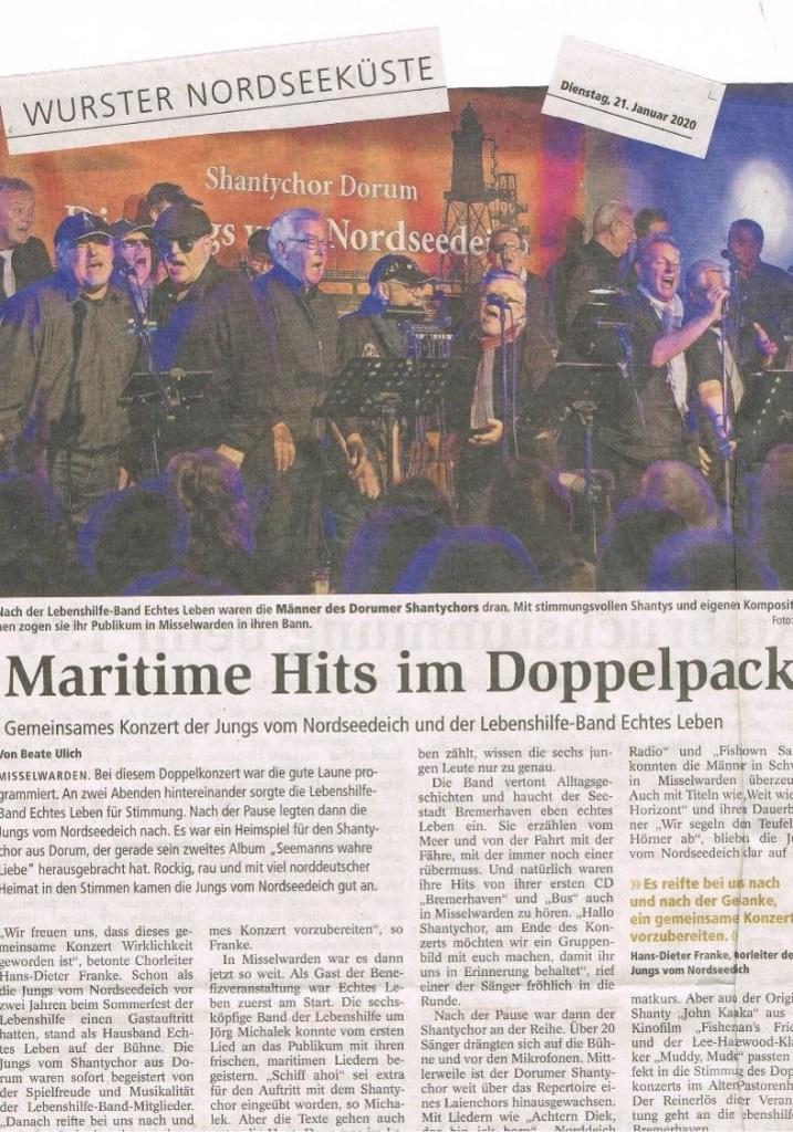 """""""Hits im Doppelschlag"""" - das ist ja mal eine Schlagzeile!"""