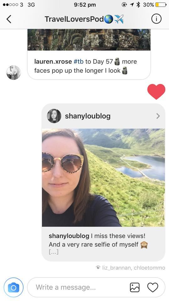 creating my instagram pod
