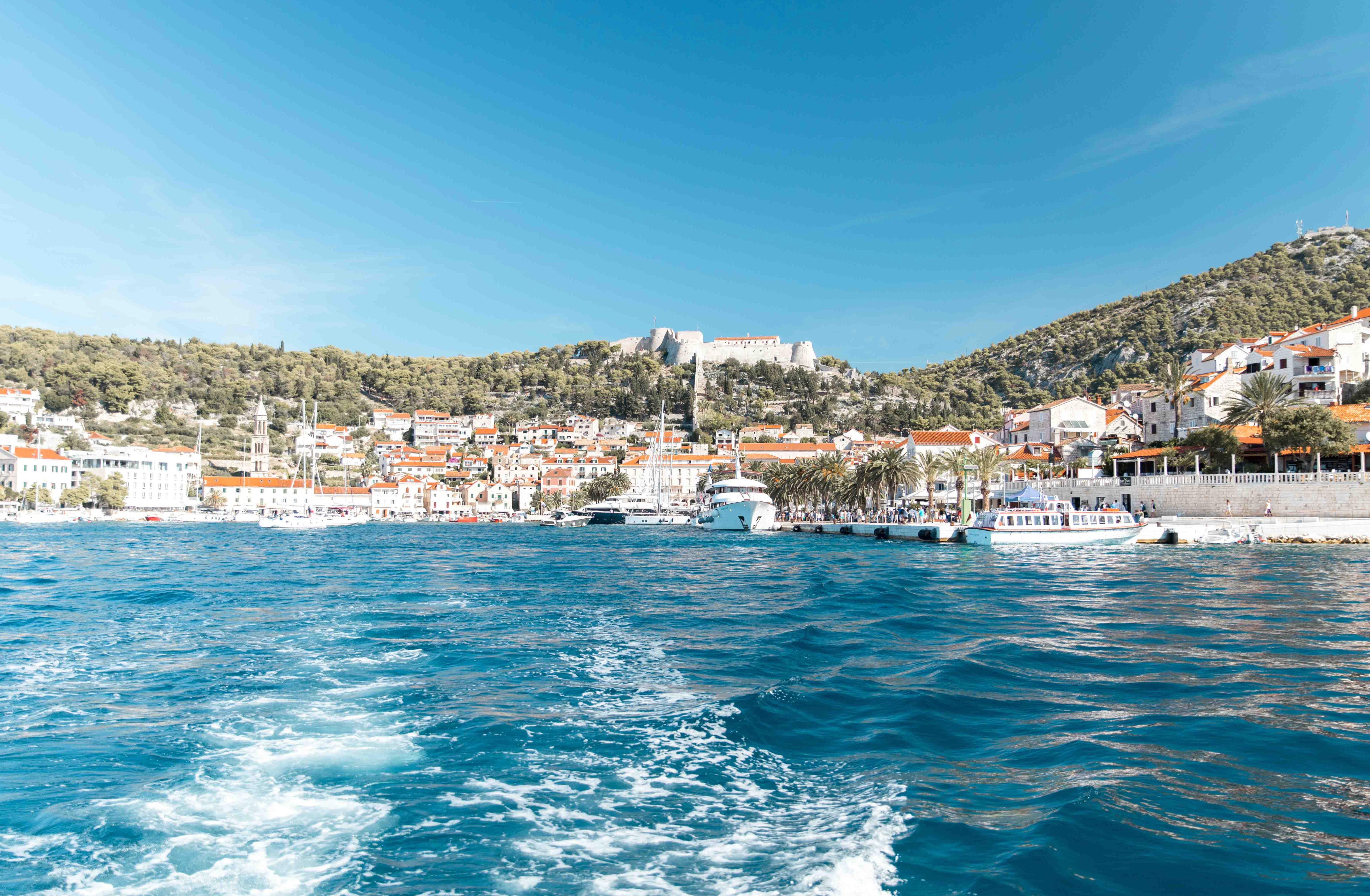 an amazing boat day in hvar