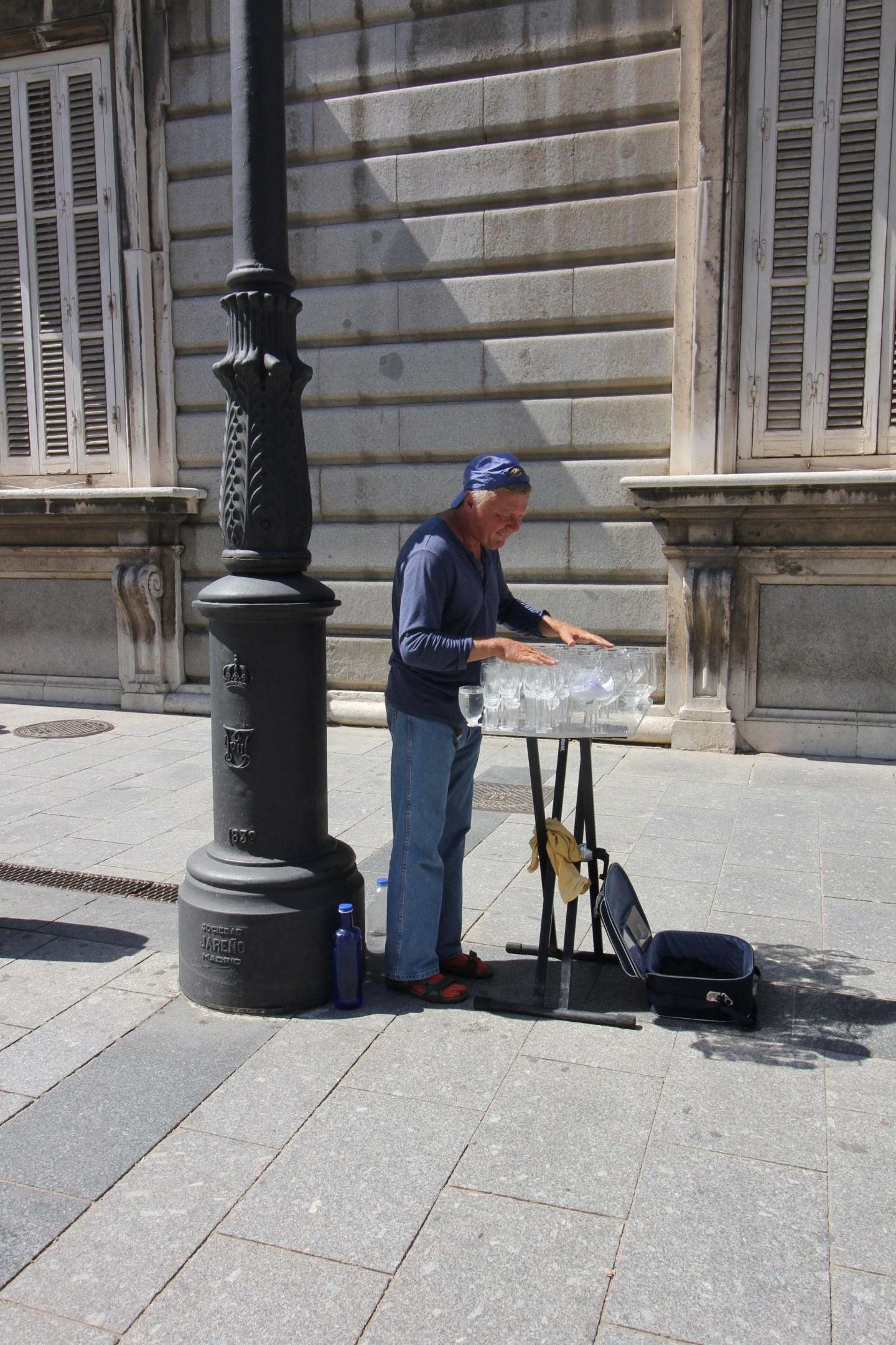 performer in madrid