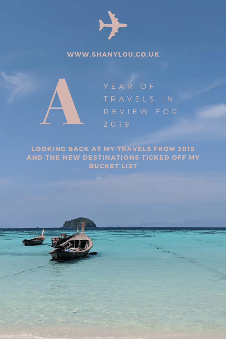 my year in travel