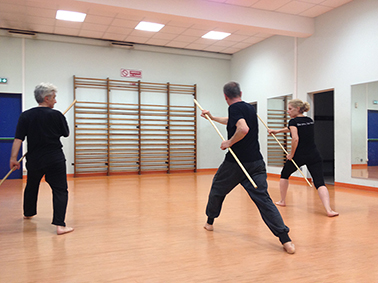Techniques au baton Shaolin-Bordeaux