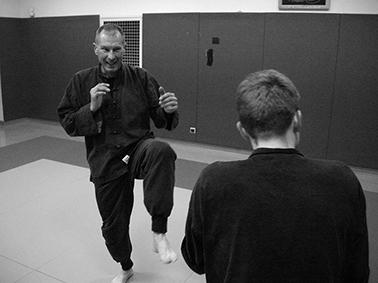 Shaolin kung fu Bordeaux une séance de combat