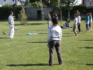 Sport santé Bordeaux ! au Jardin botanique de Bordeaux Bastide.