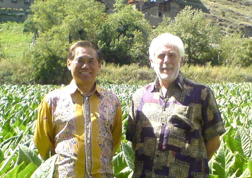 Grandmaster Wong and Sifu Riccardo