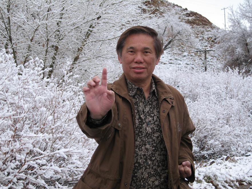 One-Finger Shooting Zen