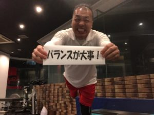シュワルツ浅井、ダイエットはバランス