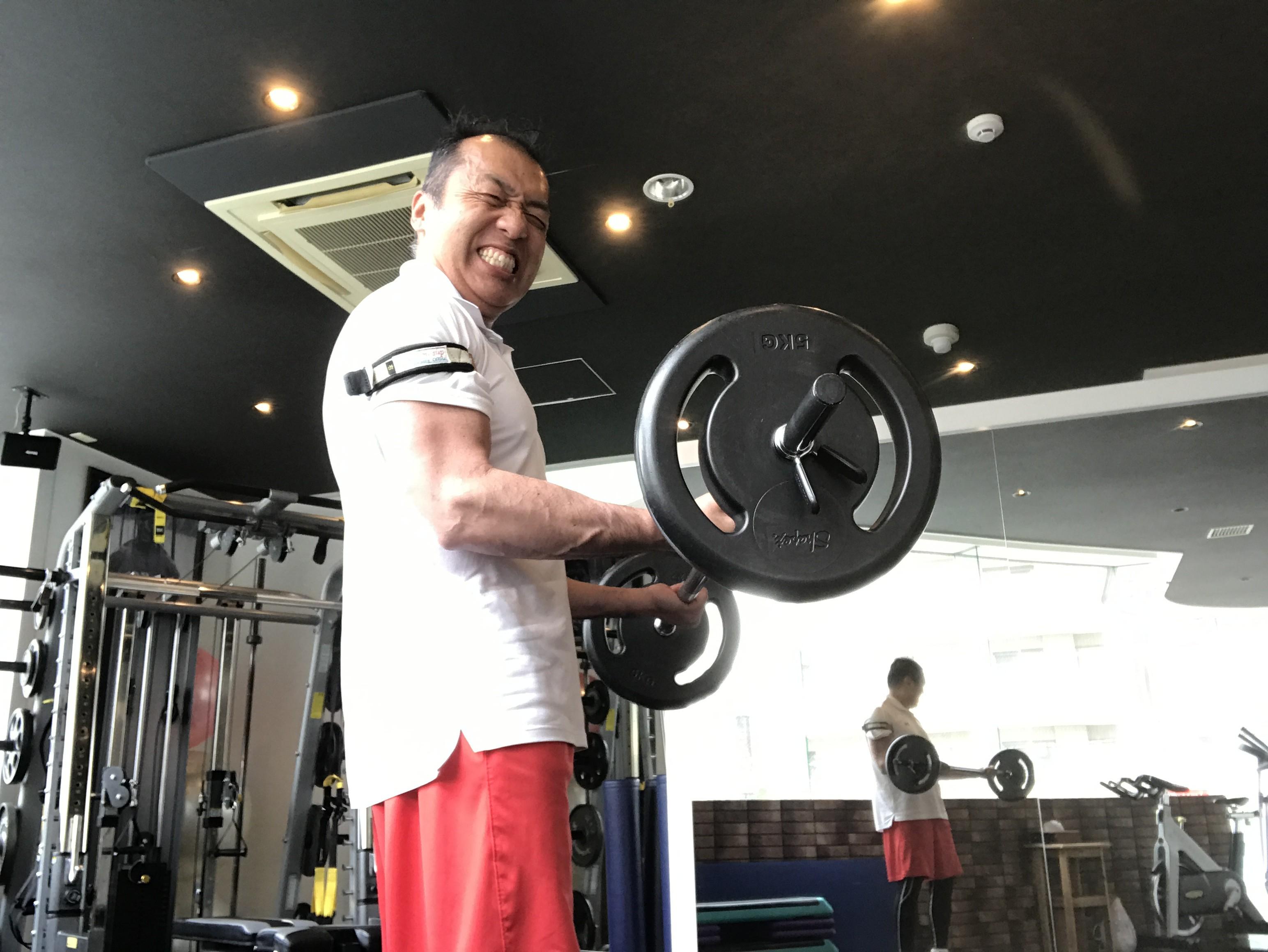 BFR(血流制限)トレーニングで若返るんです!