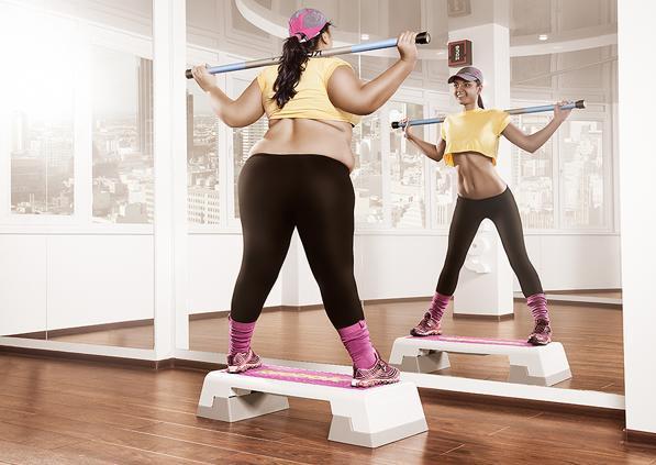 スポーツジムに行ってる人の7割は痩せれないんです!