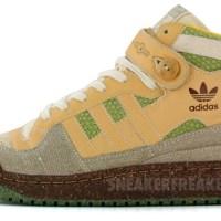 "adidas grün: ""guerilla gardeners""."