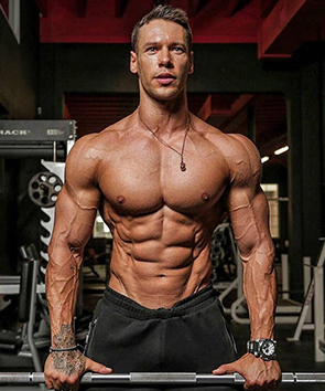 Fitnessmodel Anton Antipov