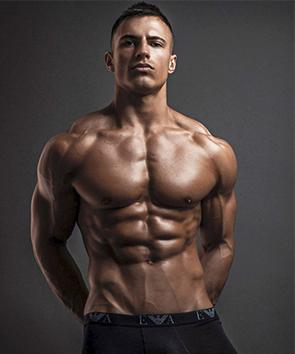 Fitnessmodel Michael Thurston