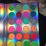 Aurora - Glow In The Dark Pigment Palette photo review