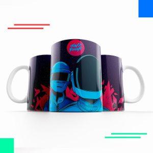 daft punk taza para café
