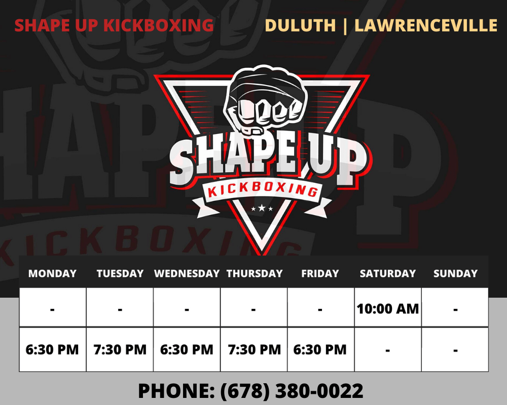 Shape Up Kickboxing Duluth