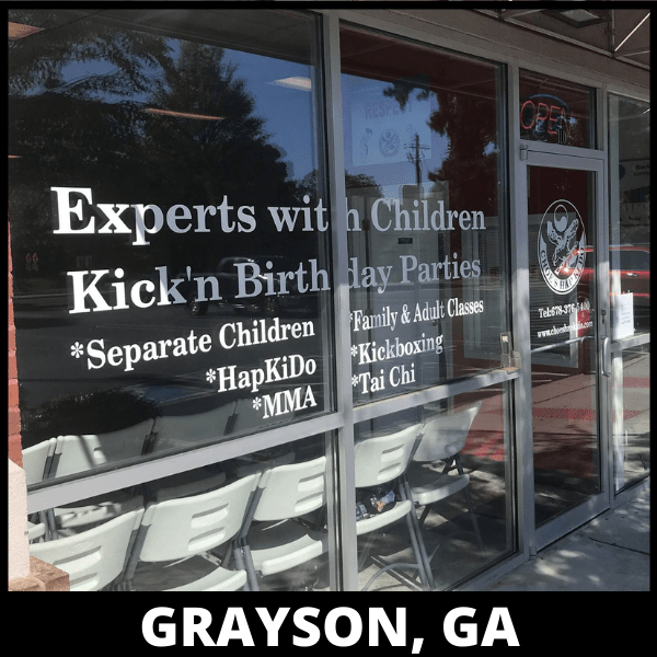 Grayson Shape Up Kickboxing