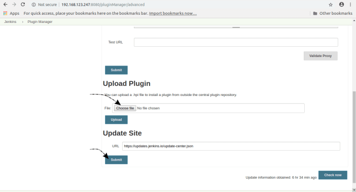 install jenkins plugin upload