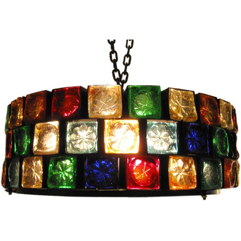 Colored Pendant Lighting