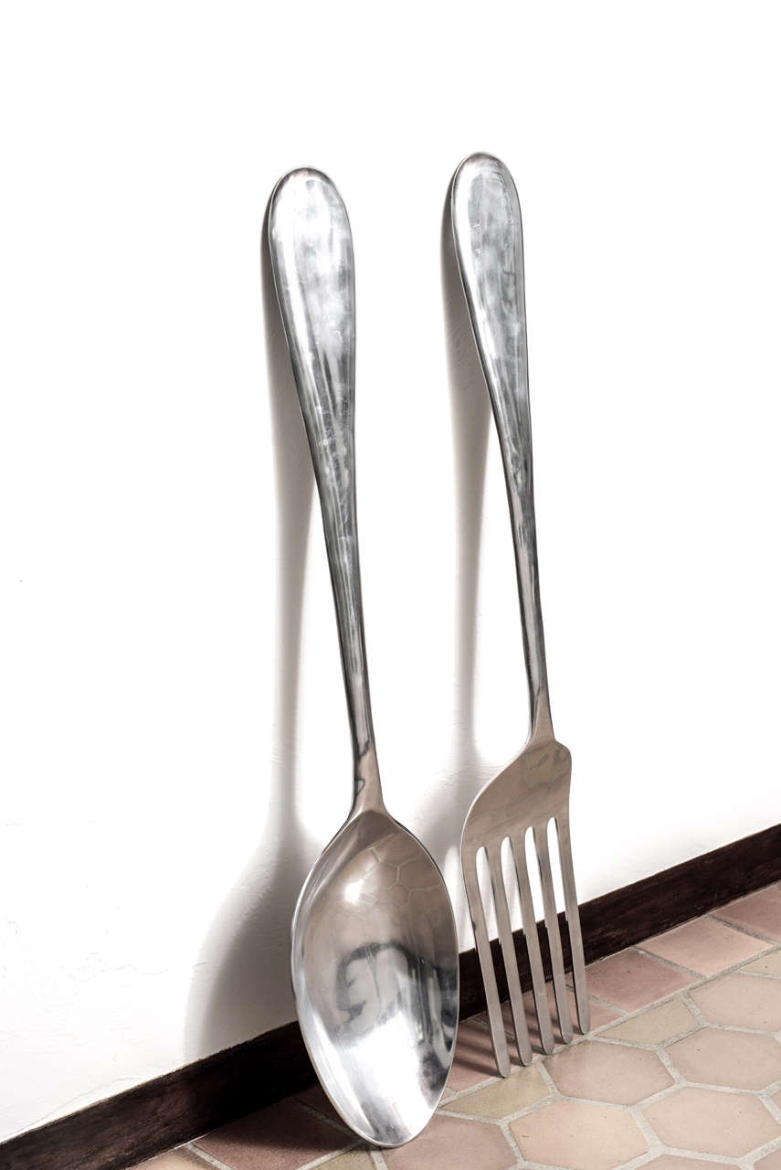 Fork And Spoon Wall Decor