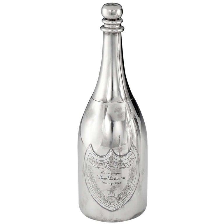 Dom Perignon Bottle Cocktail Shaker At 1stdibs