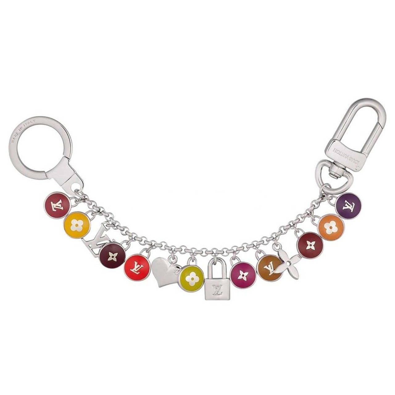 Louis Vuitton Multicolore Pastilles Chain Bag Key Charm