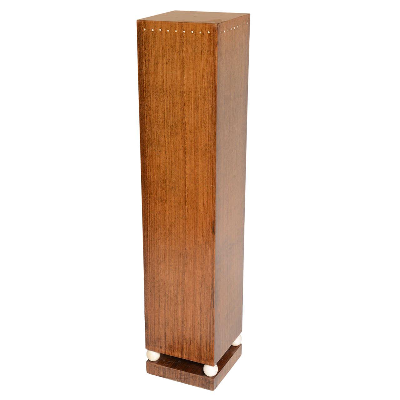 Vintage Art Deco Column Pedestal At 1stdibs