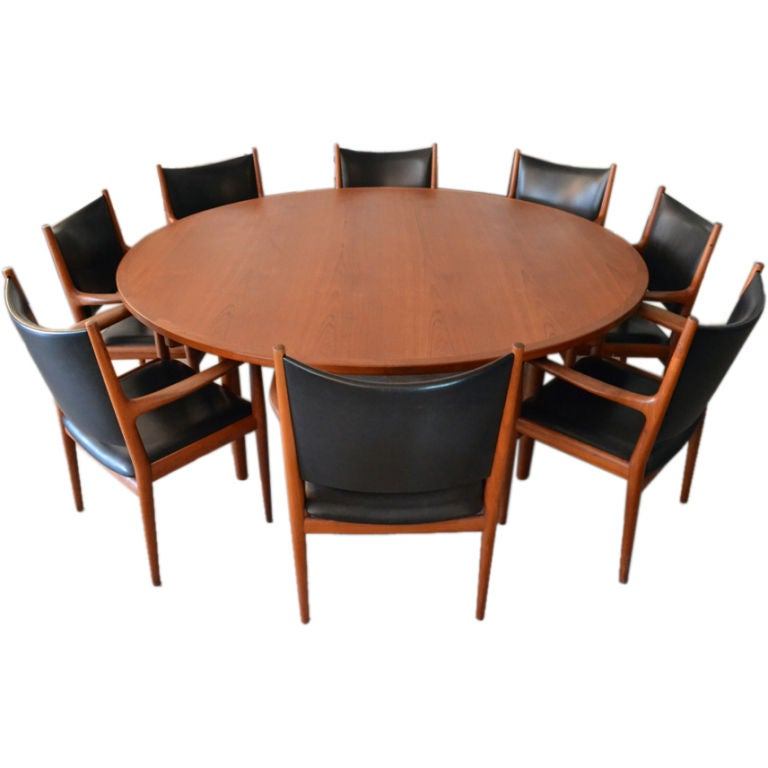Conference Table And Chairs Set