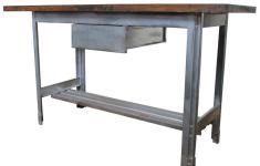 Adorable Industrial Kitchen Table That Abound With Charm Elegance