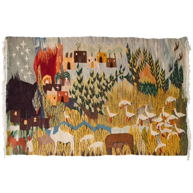 Egyptian Tapestry At 1stdibs