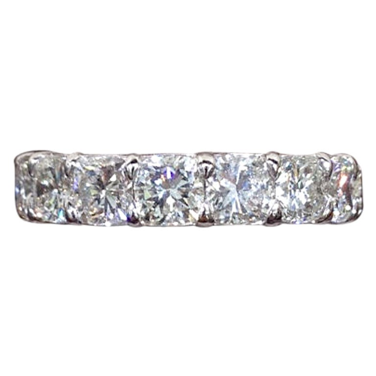 Cushion Cut Diamond Cushion Cut Diamond Eternity Bands