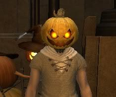 Final Fantasy XIV - Pumpkin Mask